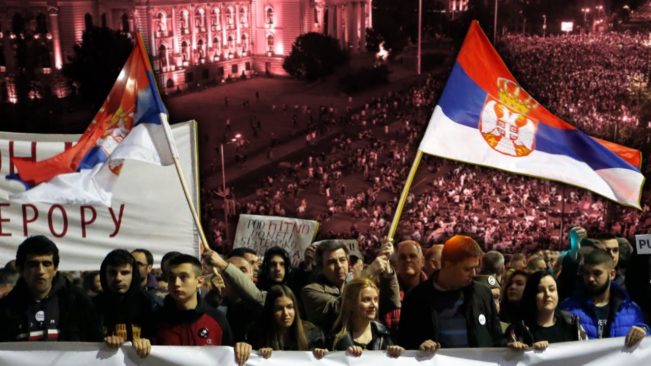 The People Win As Serbians Force Government to Scrap Curfew - #NewWorldNextWeek