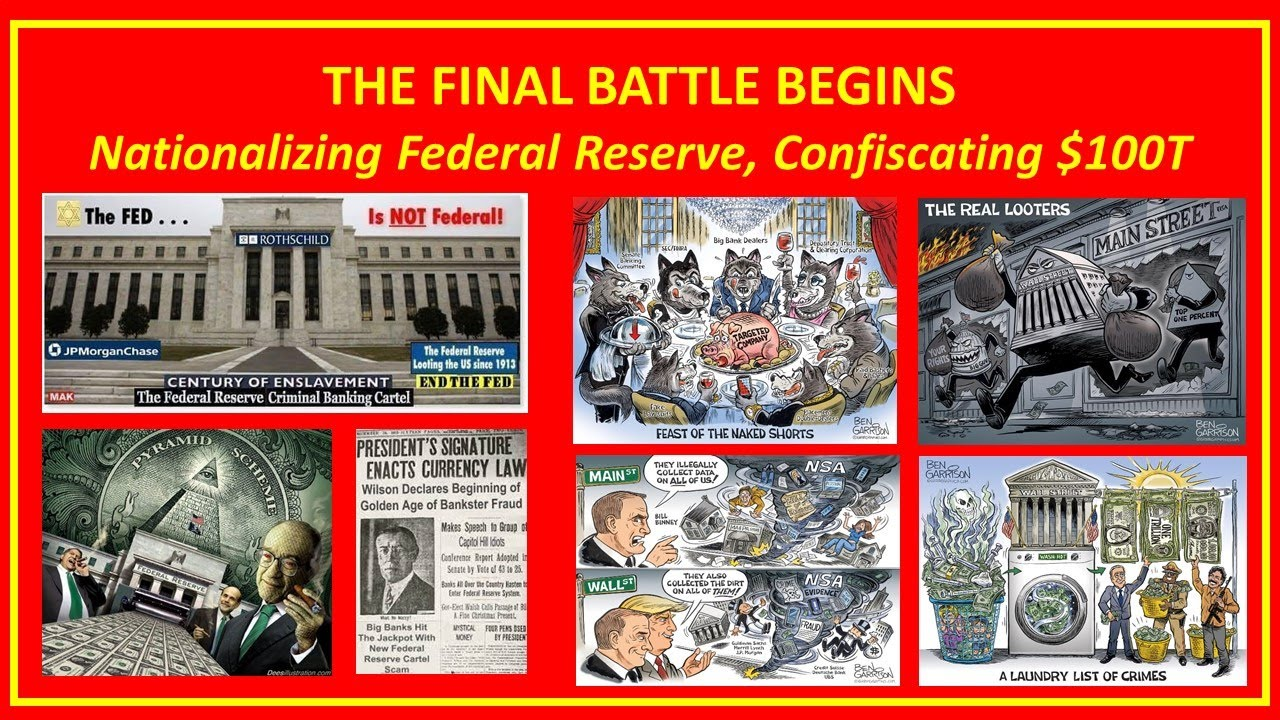 Robert Steele Donald Trump Federal Reserve $100 Trillion To Be Confiscated? What Will $100T Buy?