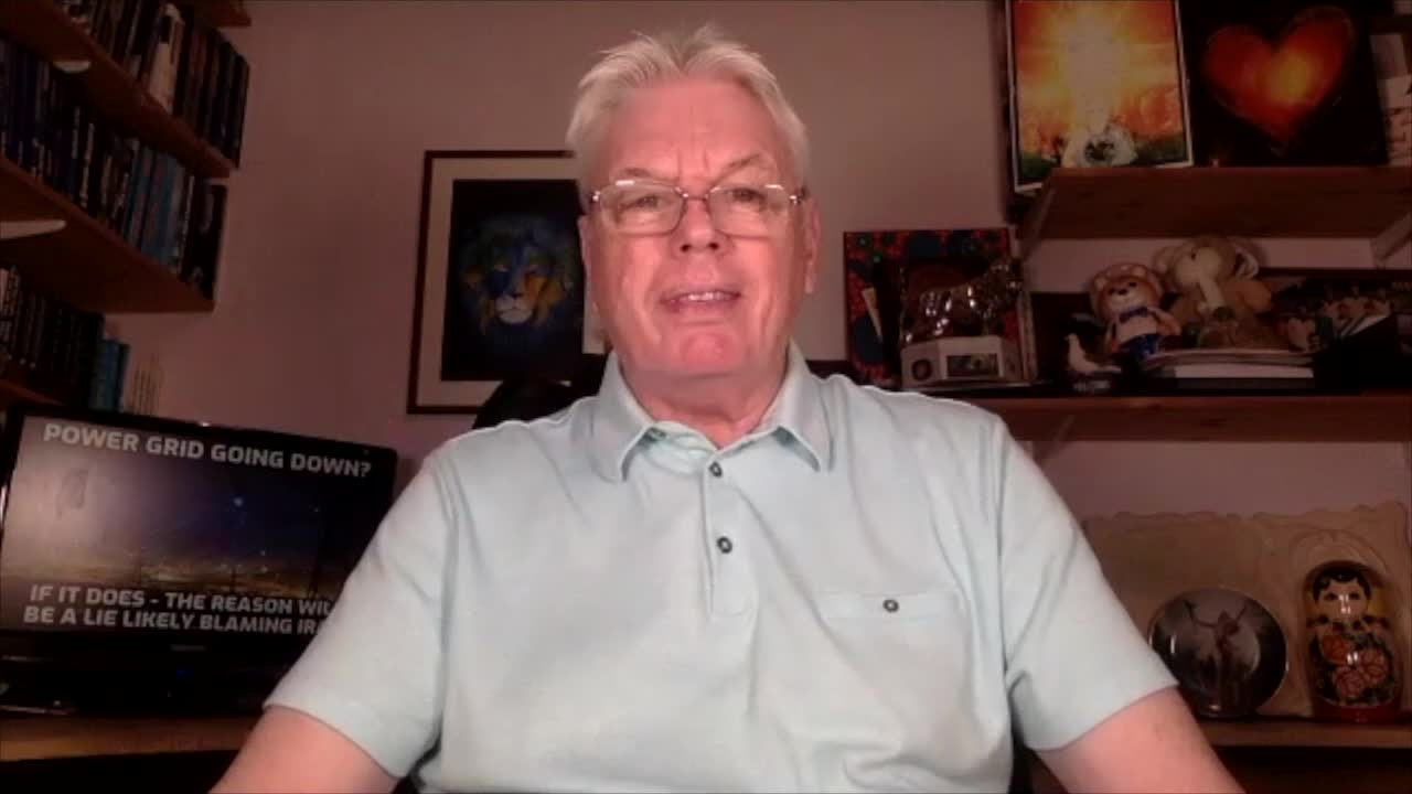 Power Grid Going Down? - If It Does - The Reason Will Be A Lie Likely Blaming Iran - David Icke Dot-Connector Videocast