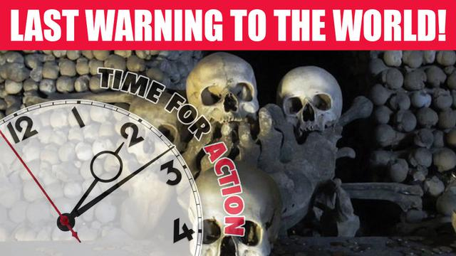 LAST WARNING TO ALL PEOPLE ON EARTH!