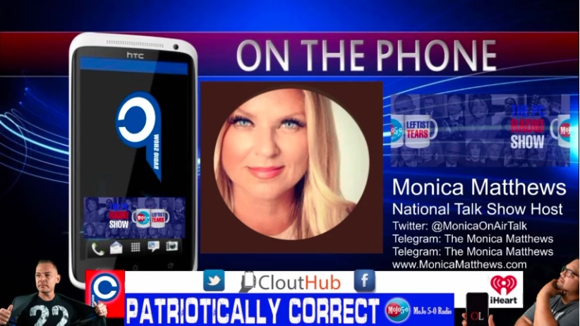 """Monica Matthews Plea to Americans - """"I Really Need Your Listeners to Hear This""""   PCRadio EXCLUSIVE"""