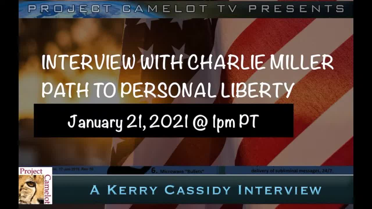 CHARLES MILLER:  PATH TO PERSONAL FREEDOM