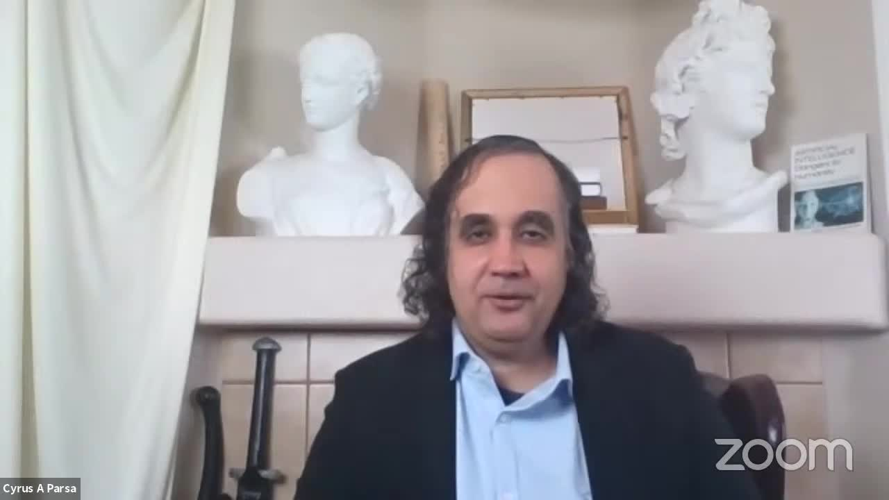 CYRUS PARSA:  NEW BOOK: THE GREAT RESET