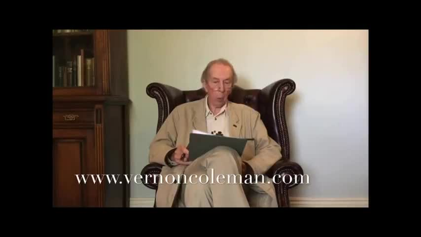 Dr. Vernon Coleman: Your Government Wants You Dead - BANNED from YouTube