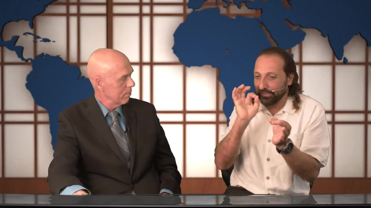 Nassim Haramein interviewed by Dr. Paul Drouin on QuantumWorld.TV