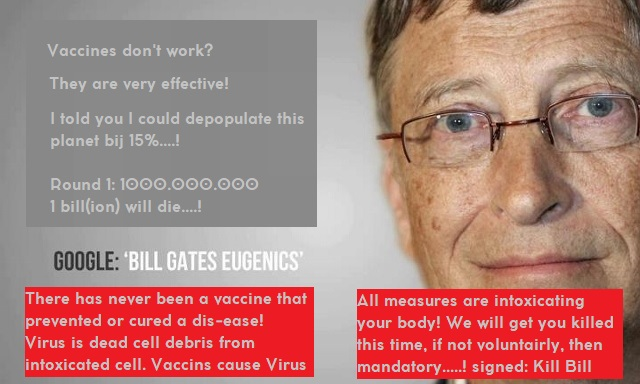 Bill Gates The most dangerous Misanthrope of the planet