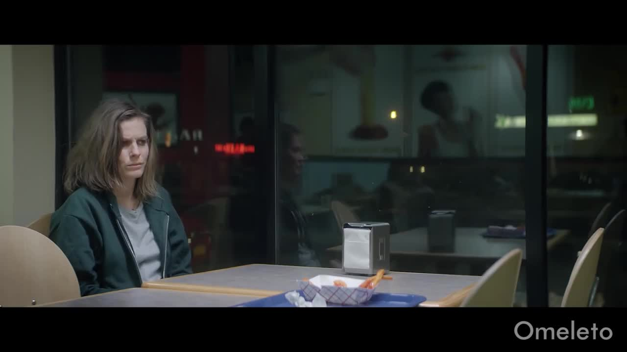 A woman is dumped at a fast food joint and stays an entire week. | Fill Your Heart With French Fries